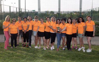 El equipo de veteranas se mantiene en Primera División